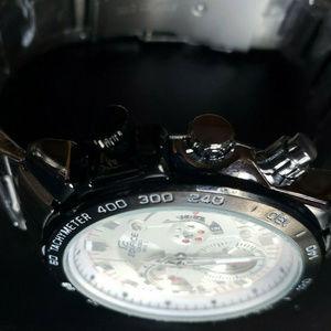 Casio Accessories - Casio Edifice Chrono Stainless Steel Quartz Watch
